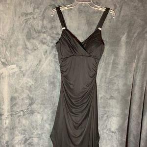 NWOT Black Chiffon High-Low Dress by Scarlett S-10